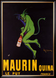 Maurin Quinquina Framed Giclee Print by Leonetto Cappiello