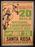 Santa Rosa, California Framed Giclee Print