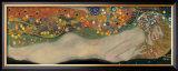 Serpentes d'Água II, c.1907 Pôsters por Gustav Klimt