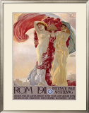 Rome, 1911 Framed Giclee Print