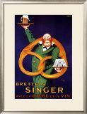 Bretzels Singer Posters by  Lotti