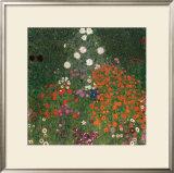 Bauerngarten Prints by Gustav Klimt