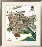 Dublin, BR Poster, 1954 Framed Giclee Print by Robert Edmund Lee