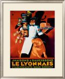 Saucisson le Lyonnais Framed Giclee Print by Henry Le Monnier