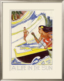 A Life in the Sun Framed Giclee Print