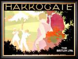 Harrogate Framed Giclee Print by Tom Purvis