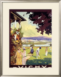 Vichy Framed Giclee Print by Roger Soubie
