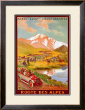 Route Des Alpes Prints by René Péan