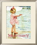 Monterey, Memories to Last a Lifetime Framed Giclee Print
