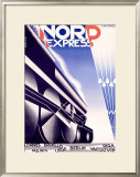 Nord Express Framed Giclee Print