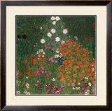 Bauerngarten Art by Gustav Klimt