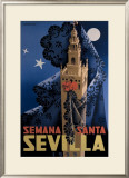 Seville Framed Giclee Print by  Orla-jerez