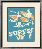Surf's Up Art by B. J. Schonberg