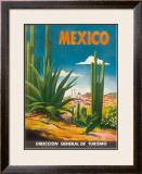 Mexico, Ciudad Juarez, Chihuahua, c.1950 Framed Giclee Print by  Magallon