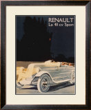 Renault La 40 Cv Sport Poster