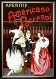 Aperitif Americano Poccardi Framed Giclee Print by Leonetto Cappiello