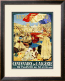 Century French Colony Algiers Framed Giclee Print