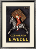 Czekolada E. Wedel Framed Giclee Print by Leonetto Cappiello