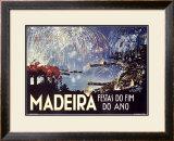 Madeira Framed Giclee Print