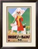 Bries Les Bains Print by Leon Benigni