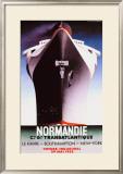 Normandie Framed Giclee Print