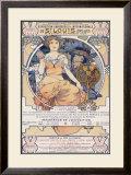 World's Fair, St. Louis,, Missouri, 1904 Framed Giclee Print by Alphonse Mucha