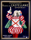 Champagne Vicomte de Castellane Epernay Framed Giclee Print by Leonetto Cappiello