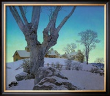 Hill Top Farm Poster by Maxfield Parrish