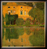 Schloss Kammer at Attersee Posters by Gustav Klimt
