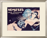 Nemesis Impresso gicle emoldurada por Josef Fenneker