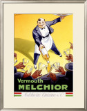 Vermouth Melchior Framed Giclee Print by  Dorfi