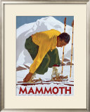 Mammoth Framed Giclee Print