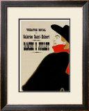 Aristide Bruant Print by Henri de Toulouse-Lautrec
