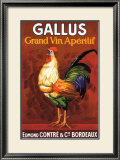 Gallus, Grand Vin Apertif Framed Giclee Print