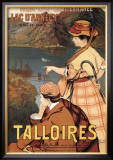 Talloires Prints by Albert Besnard