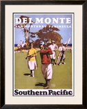 Del Monte, Southern Pacific Framed Giclee Print by  Lorand