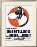 Austellung Von Hundren Framed Giclee Print by Johannes Handschin
