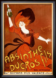 Absinthe Ducros Fils Framed Giclee Print by Leonetto Cappiello