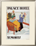 Palace Hotel Posters by Emil Cardinaux