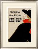 Aristide Bruant Posters by Henri de Toulouse-Lautrec