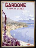 Lago di Garda Framed Giclee Print