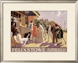 Fekixstowe Framed Giclee Print by  Lambart