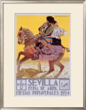 Sevilla, 1934 Framed Giclee Print