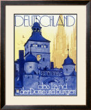 Germany, Land of Castles Framed Giclee Print