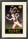 Rugby, La Casquette Parfaite Framed Giclee Print by Leonetto Cappiello