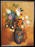 Bouquet of Flowers Art by Odilon Redon