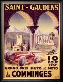 Saint Gaudens Grand Prix du Comminges Framed Giclee Print