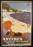 Antibes Art by Roger Broders