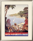Santa Marguerita Framed Giclee Print