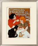 Compagnie des Chocolats et des Thes Posters by Théophile Alexandre Steinlen